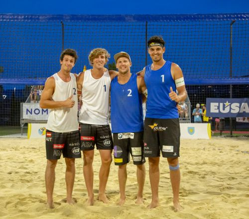 The European universities championship in Beach Volleyball ended with the same problem as the Tour de France Friday's stage
